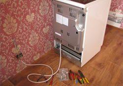 Подключение электроплиты. Кировские электрики.