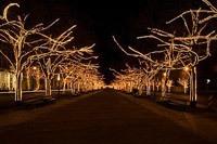 Подключение освещения зданий в Кирове
