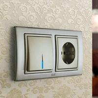 Установка выключателей в Кирове. Монтаж, ремонт, замена выключателей, розеток Киров.